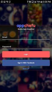 AppChefu E-Commerce Manager - náhled