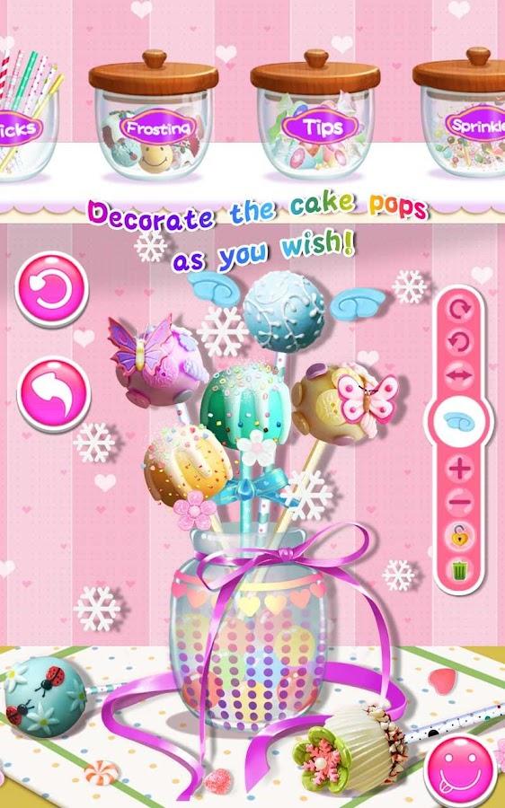 cake pops maker salon android apps on google play. Black Bedroom Furniture Sets. Home Design Ideas