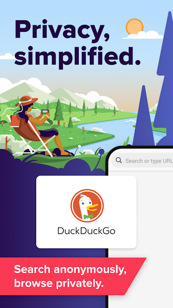 DuckDuckGo Privacy Browser Android App Screenshot