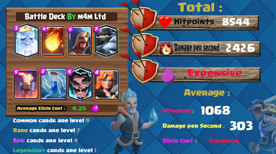 New Decks and stats for Clash Royale 2018 - náhled