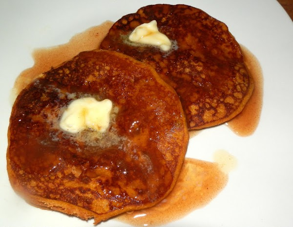 Pumpkin Pancakes With Spiced Cider Syrup Recipe