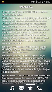 Afşin FM screenshot 2