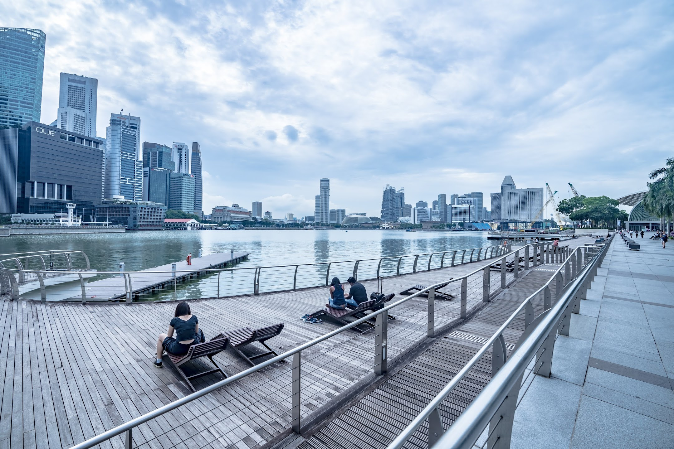 シンガポール Marina Bay Waterfront Promenade1