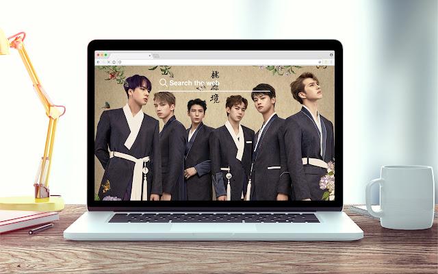 Vixx K-pop New Tab Theme