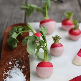 BUTTER DIPPED RADISHES Recipe