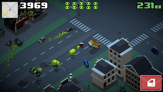 Smashy Road: Wanted 2 Mod Apk (Unlimited Money) 4