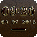 NEW YORK Digital Clock Widget icon