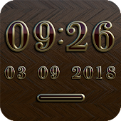 NEW YORK Digital Clock Widget