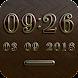 NEW YORK Digital Clock Widget image