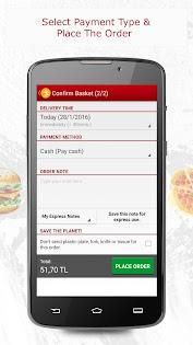 Yemeksepeti -Order Food Easily Appar (APK) gratis nedladdning för Android/PC/Windows screenshot