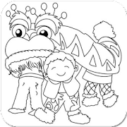 Chinese New Year Coloring Pages Ideas