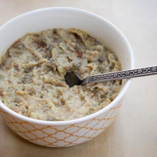 Baba Ghanoush (eggplant Dip/spread).