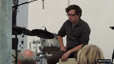 Photo: Ben's drummer doesn't get to say anything, but he sure adds a beat
