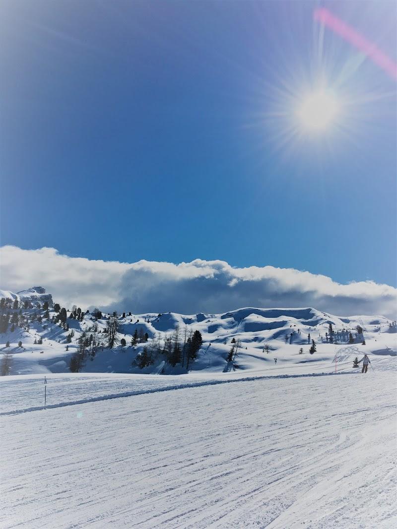 una giornata sugli sci  di andreina