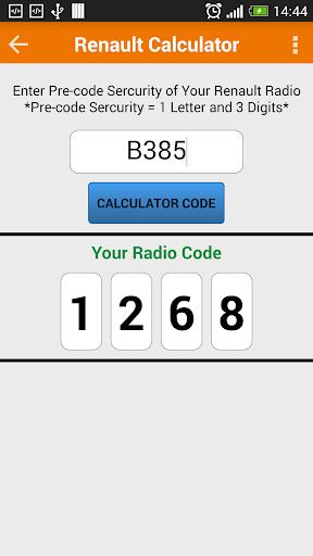 玩免費遊戲APP|下載Radio Precode Cal For Renault app不用錢|硬是要APP