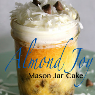 Almond Joy Mason Jar Cake