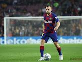 Jordi Alba va manquer le Clasico