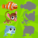 Animals Puzzles for Kids icon