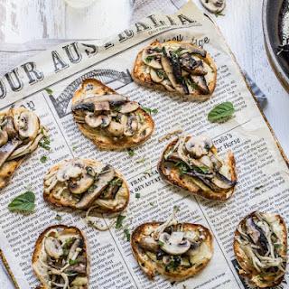 Mixed Mushroom Bruschetta