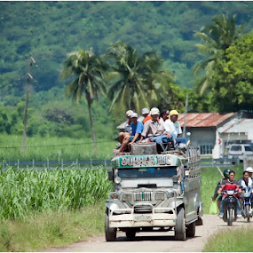 Farm to market.. . by Steve Albano - Transportation Other ( jeepneys, farm to market, transportation )