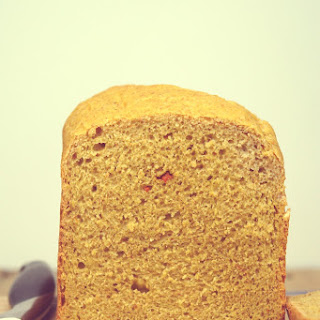 Brown bread and Goji Berries.