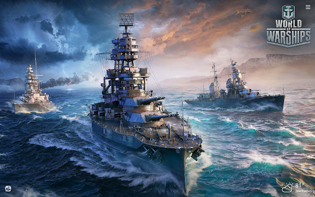 World of Warships HD Wallpapers New Tab Theme