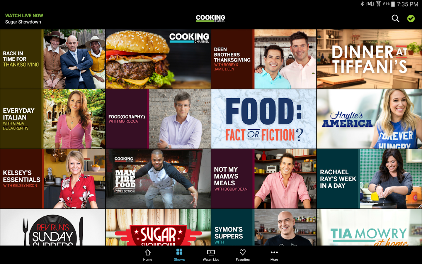 Food Network Channel Live Stream