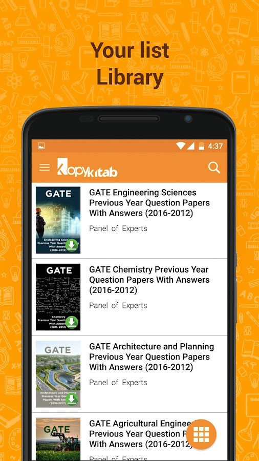 GATE Solved Papers & Solutions- screenshot