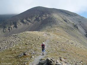 Photo: La cima que tenemos delante no es verdaderamente la cima principal del Puigmal, ésta queda escondida detrás bien cerca.