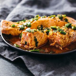 Instant Pot Salmon With Chili-lime Sauce.