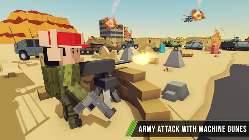 Blocky Army Base:Modern War Critical Action Strike 1.11 screenshots 6