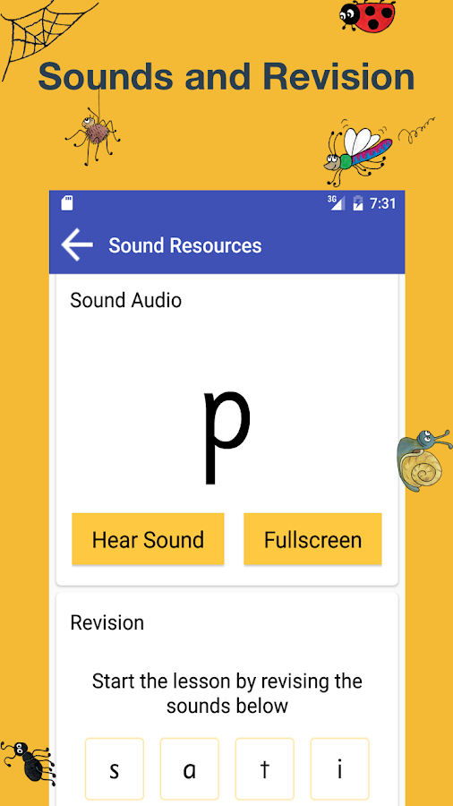 Jolly Phonics Lessons- screenshot