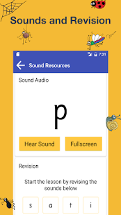 Jolly phonics lessons apps on google play screenshot image fandeluxe Choice Image