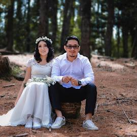 Couple Engagement Photoshoot by Fredy Pandia - Wedding Bride & Groom ( prewedding, wedding, d610, 50mm, couple, portrait )