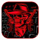 Download Red Skull & Gun Keyboard For PC Windows and Mac