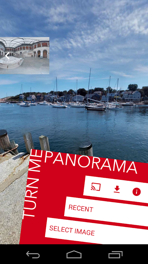 TurnMe Panorama- screenshot