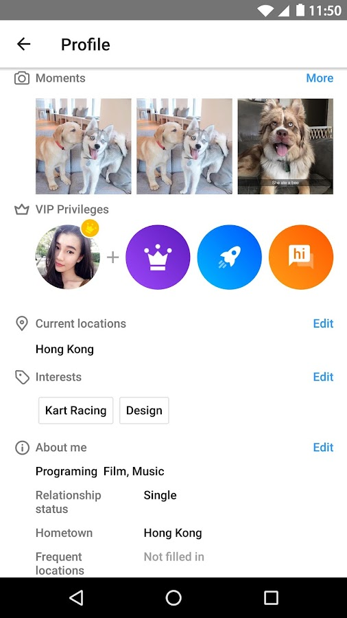 Mico - Meet New People & Chat- screenshot