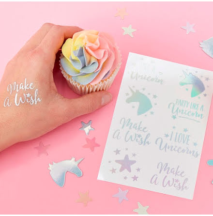 Tatueringar - Make a wish unicorn