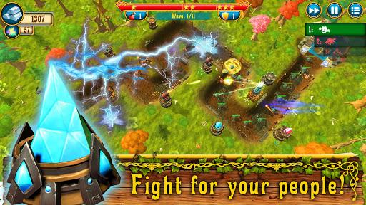 Code Triche Fantasy Realm TD: Tower Defense Game apk mod screenshots 6