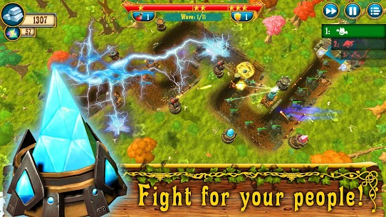 Fantasy Realm TD: Tower Defense Mod Apk (Unlimited Money) 6