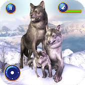Ultimate Wolf Family Simulator: Wildlife Games