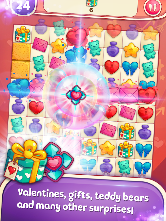 Sweet Hearts - Valentine\'s Day Match 3 Puzzle - Android Apps on ...