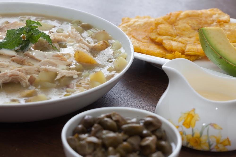 platos típicos de Colombia