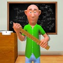 Crazy Teacher of Math in School Education Learning icon