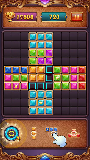 Block Puzzle: Diamond Star Blast 1.3 screenshots 5
