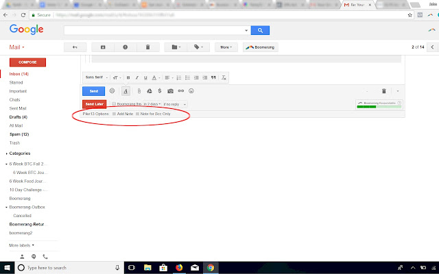 Gmail CRM Extension