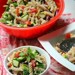 Summer Veggie Pasta Salad.