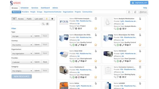 Open IRIS - Le système de gestion des réservations et de facturation des équipements