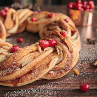 Honey Almond Winter Wreath