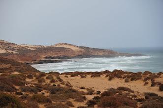 Photo: Région de TAMRI - côte sauvage de l'Atlantique